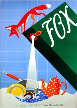 Fox – Abwaschmittel im LVZ, H. Winterberg