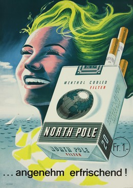 NORTH POLE MENTHOL COOLED FILTER, Rudolph Levers