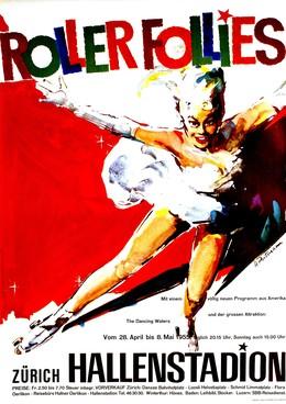 Hallenstadion – Roller Follies, Hans Portmann