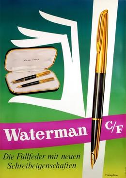 Waterman C/F – Die Füllfeder mit neuen Schreibeigenschaften, V. Anderfuhren