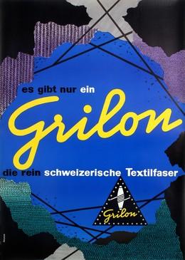 Grilon – es gibt nur ein GrilonSchweiz. Textilfaser, Walter Grieder