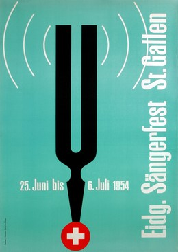 Eidg. Sängerfest St. Gallen – 25. Juni bis 6. Juli 1954, Arnold Bosshard