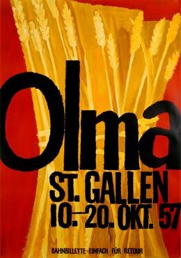 OLMA St. Gallen – 10. – 20. Okt. 57, Artist unknown