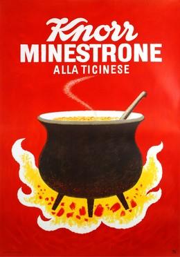Knorr Minestrone – Alla Ticinese, Hans Tomamichel