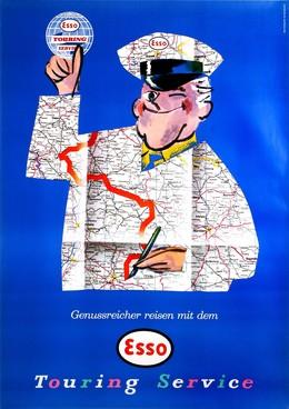 Genussreicher reisen mit dem ESSO – Touring Service, Walter Greminger