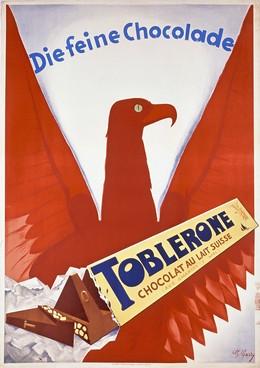 Die feine Chocolade – TOBLERONE – Chocolat au Lait Suisse, Ch. Garry