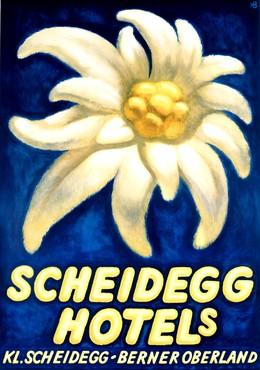 Scheidegg Hotels – Kl. Scheidegg – Berner Oberland, Karl Bickel