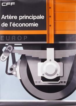 CFF – Artère principale de l'économie, Hans Hartmann