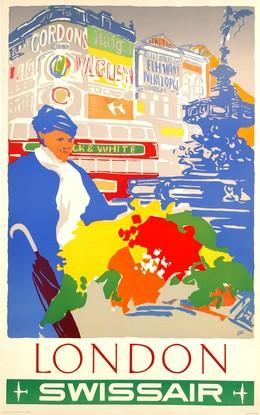 SWISSAIR – LONDON, Henry Ott
