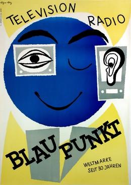 BLAUPUNKT – TELEVISION RADIO – Weltmarke seit 30 Jahren, Edgar Küng