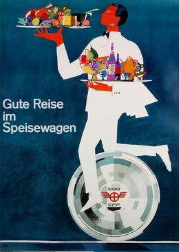 SBB – gute Reise im Speisewagen, Hugo Wetli