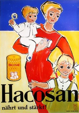 Hacosan nourishes and strengthens, Artist unknown