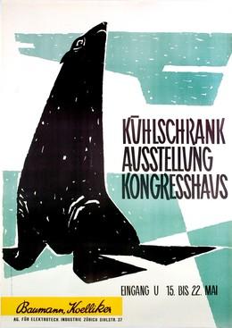 Baumann Koelliker – Kühlschrank – Ausstellung Kongresshaus Zürich, Atelier Häsler