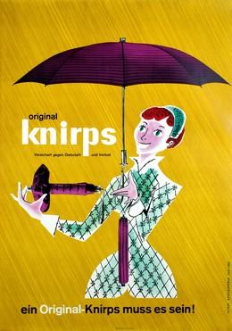 Original Knirps – Ein Original-Knirps muss es sein!, Ferdinand Afflerbach