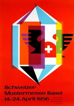 Schweizer Mustermesse Basel 14. – 24. April 1956, Fritz Bühler