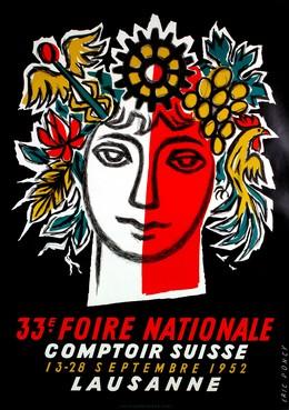33e Foire Nationale – Comptoir Suisse – 13-28 Septembre 1952 Lausanne, Eric Boncy