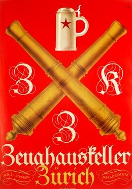 Zeughauskeller Zürich, Monogram K.W.