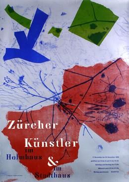 Zürcher Künstler im Helmhaus & im Stadthaus, K.J. Wegmann