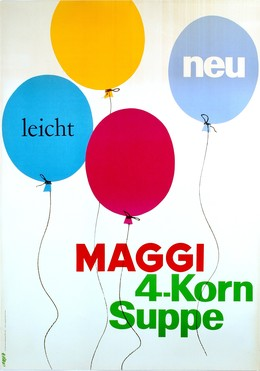Maggi – 4-Korn-Suppe, Hans Looser