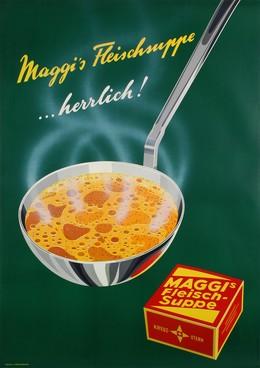 Maggi meat broth, Rolph Grossmann