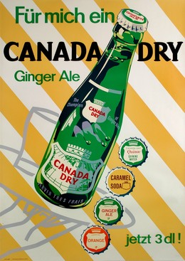 Canada dry – Ginger Ale, J. Wild