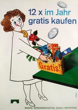 12 x im Jahr gratis kaufen – Migros-Genossenschaften Zürich Winterthur, A. Gerbig