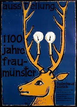 """Helmhaus Zürich """"1100 Jahre Fraumünster"""", Köbi Baumgartner"""