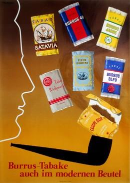 Burrus-Tabake auch im modernen Beutel, Roger Grütter