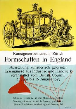 Kunstgewerbemuseum Zürich – Formschaffen in England, Nicholson