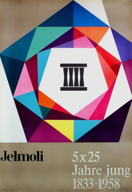 Jelmoli – 5 x 25 Jahrfe jung 1833 – 1958, Artist unknown