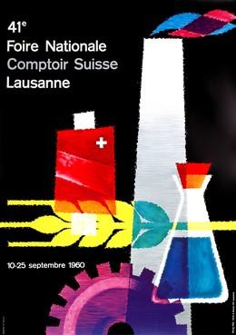 41e Foire National Comptoir Suisse Lausanne 10 – 25 Septembre 1960, Ernest Witzig