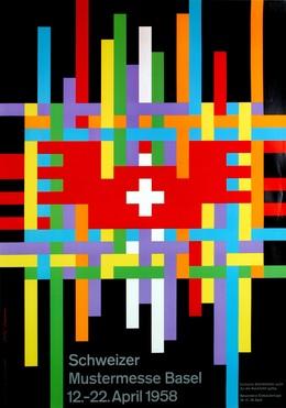 Schweizer Mustermesse Basel 12. bis 22. April 1958, Rolf Rappaz
