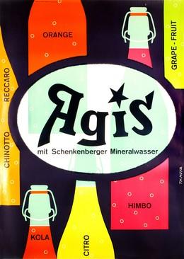 Agis mit Schenkenberger Mineralwasser, Theo Muyr