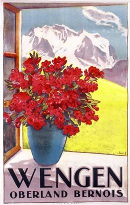 WENGEN – Oberland Bernois, Otto Ernst