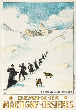 Chemin-de-fer MARTIGNY-ORSIÈRES – Le grand Saint-Bernard, Albert Jacques Marc Muret