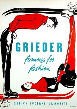 GRIEDER- famous for fashion – ZURICH LUCERNE ST. MORITZ, Clerc