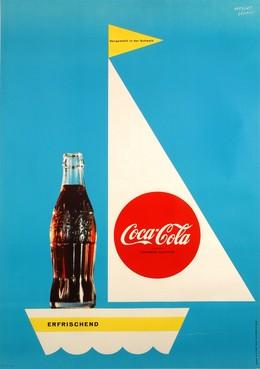 Coca-Cola erfrischend, Herbert Leupin