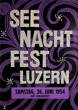 Seenachtfest Luzern 1954, Monogram KRU