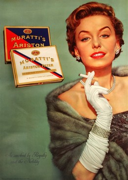 MURATTI'S ARISTON – as smoked by Royalty and the Nobility, Triplex Agency Zurich
