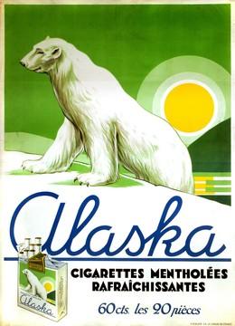 Alaska Cigarettes mentholées, Artist unknown