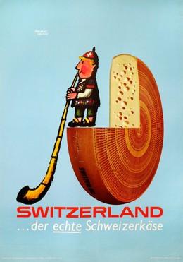 The real Swiss Cheese, Herbert Leupin
