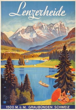 Lenzerheide 1500 m.ü.M. – Graubünden Schweiz, Carl Franz Moos