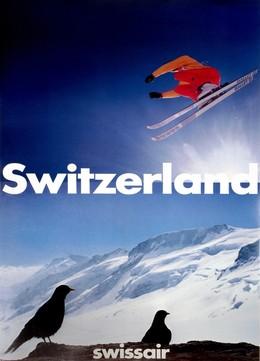 Swissair – Switzerland, Paul Brühwiler