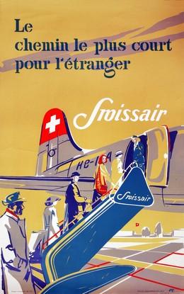 Swissair – Le chemin le plus court pour l'étranger, Henry Ott