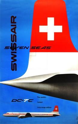 SWISSAIR – Seven Seas – DC-7C – The world's fastest long-range airliner, Kurt Wirth