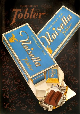 Chocolat Tobler, Noisette, Artist unknown