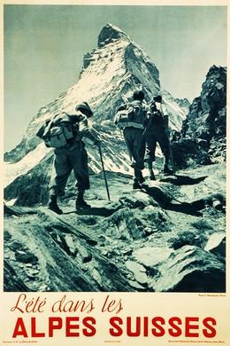 DIE SCHWEIZ – L'été dans les Alpes Suisse – Matterhorn – Zermatt, Emil (Photo) Meerkämper