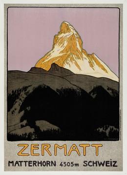 ZERMATT – MATTERHORN – 4505m – Schweiz, Emil Cardinaux