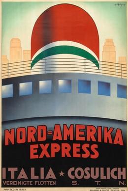 NORD-AMERIKA EXPRESS – ITALIA – COSULICH – Vereinigte Flotten, Giovanni Patrone