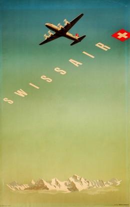 Swissair – DC-3, Hermann Eidenbenz